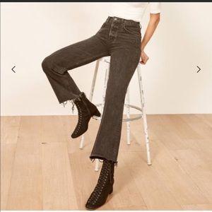 NWT Reformation Fawcett High Waist Crop Jeans